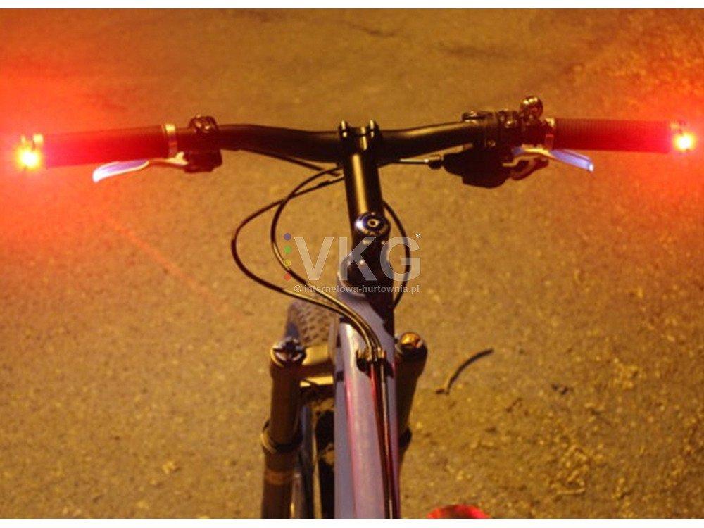 Oświetlenie Rowerowe Kierunkowskazy Na Kierownicę